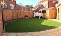 Artificial Grass Back Garden 2018