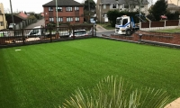 Oulton Broad Artificial Grass Installation 1