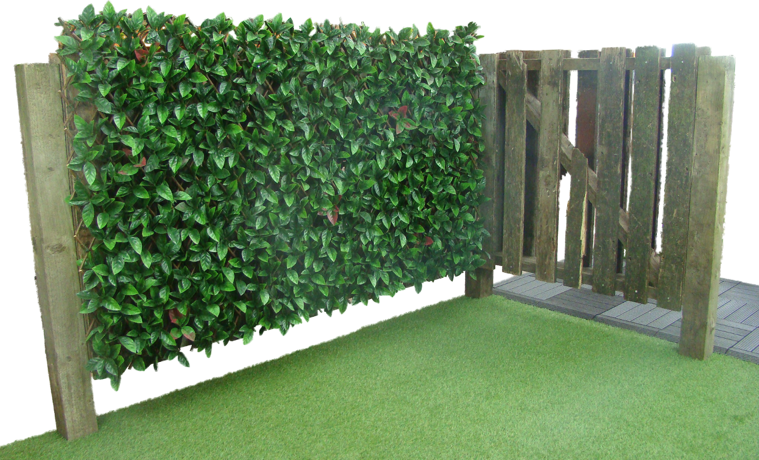Autumn Extendable Artificial Hedging Grosvenor Grass