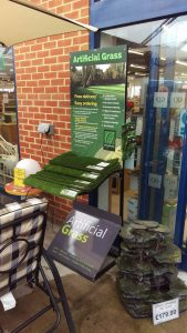 grosvenor grass diy sample stand qd stores