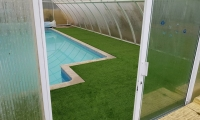 Verwood Artificial Grass Swimming Pool 2018 1